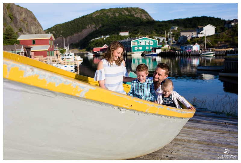 Newfoundland Family Portraits