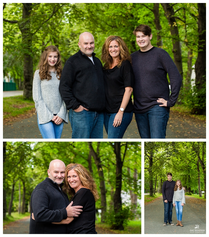 Family Portraits in St. John's, Newfoundland