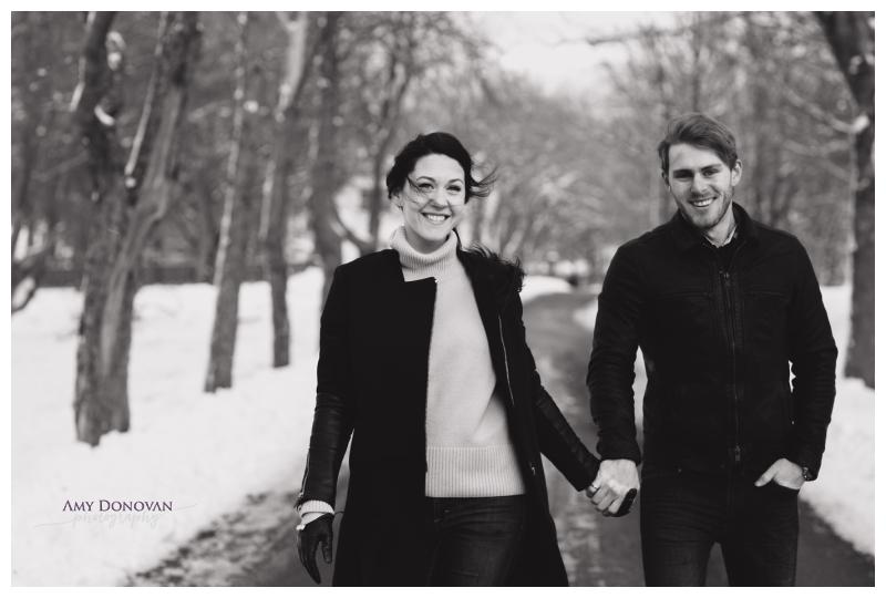 St. John's Winter Engagement Photography